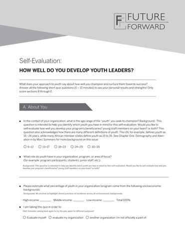 photograph regarding What Kind of Leader Are You Printable Quiz identified as How effectively do oneself acquire youth leaders self investigation by means of
