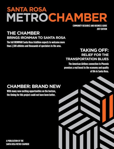 2017 Santa Rosa Metro Chamber Community Resource Business Guide By