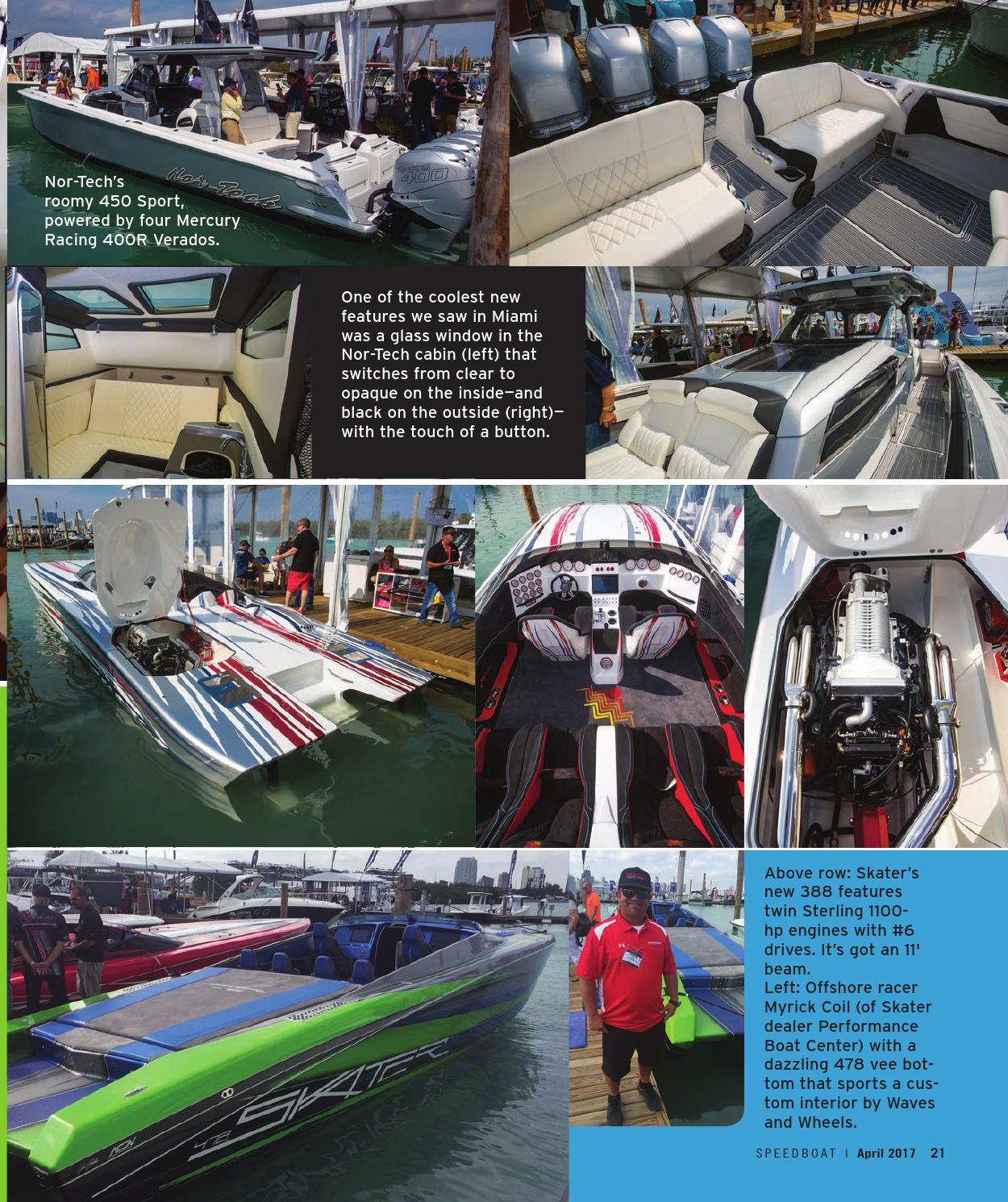 21 Skater Boat