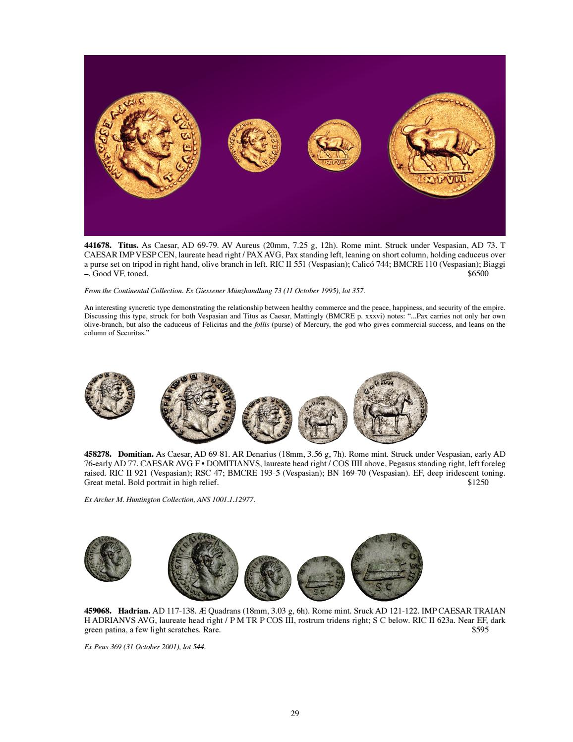Cnr april 2017 by Classical Numismatic Group, LLC - issuu
