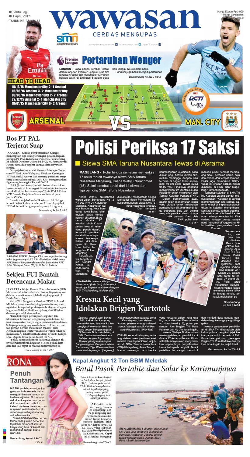 Wawasan 01 April 2017 By Koran Pagi Issuu Produk Ukm Bumn Batik Tulis Babon Angrem