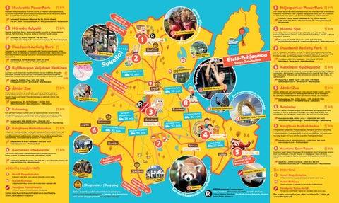 Lakeudelle Kartta 2017 Familjekul Kartan 2017 By Etela