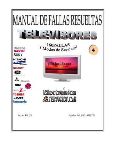 Manual de fallas resueltas tv 4 by Hector Viloria Soto - issuu on