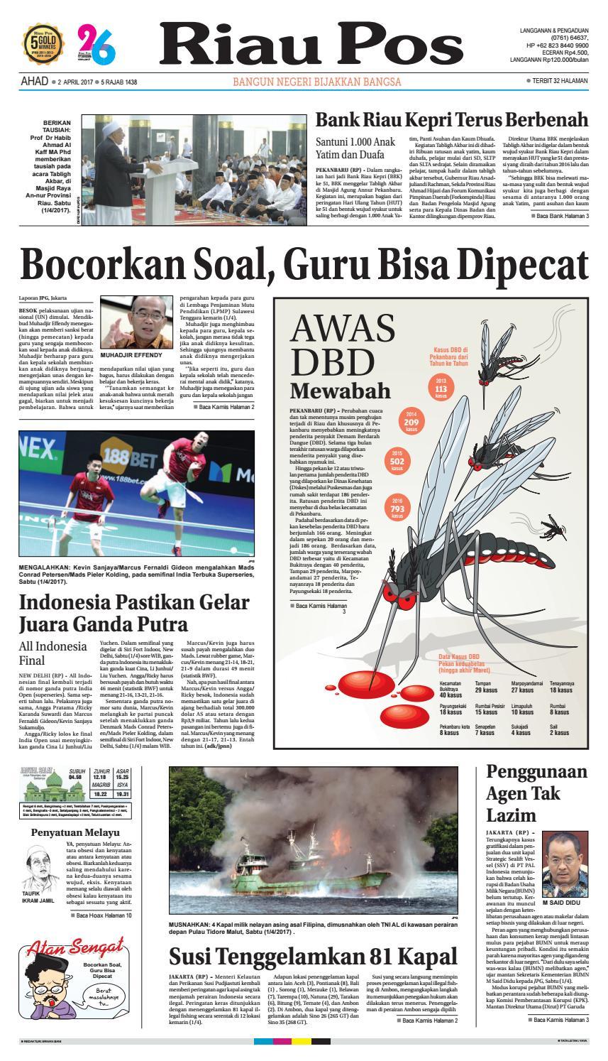 2017 04 02 By Riau Pos Issuu