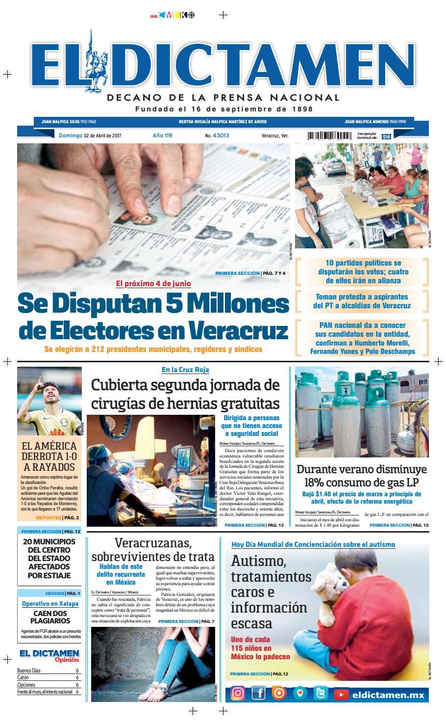 El Dictamen 02 de Abril 2017 by El Dictamen - issuu 227b9db93fd