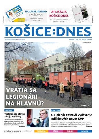 3e2ac52b2 KOŠICE:DNES 3.4.2017 by KOŠICE:DNES - issuu