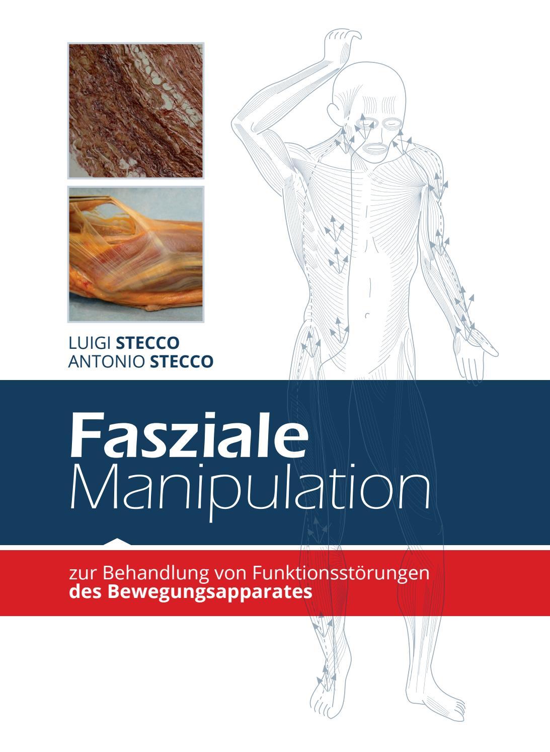 Fasziale manipulation zur behandlungs von funktionsstörungen des ...