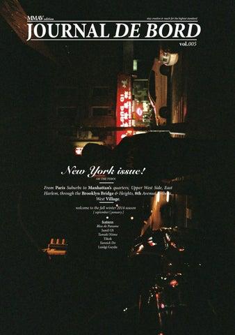 Journal De Bord Vol 05 New York Issue By Lejournaldebord Issuu