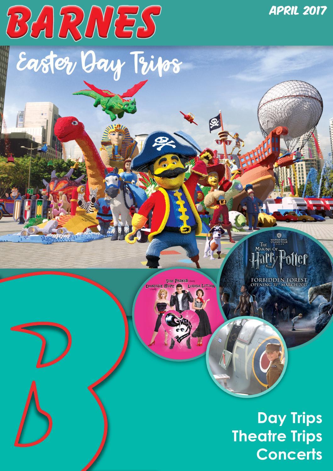 Day Trip Brochure - Apr 2017 by Barnes Coaches - Issuu