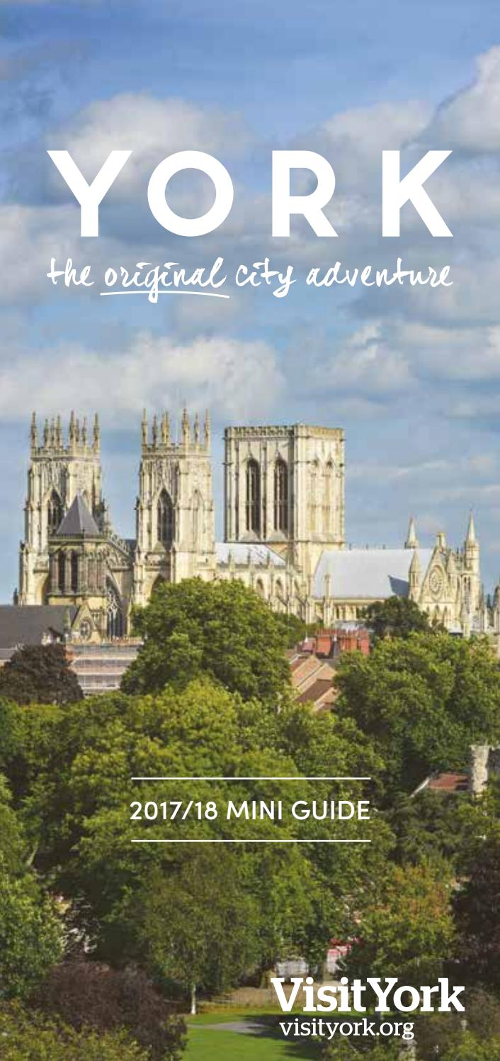 York Mini Guide 2017 18 By Visit Issuu Ensure Fos Chocolate Tin 1000 Gr