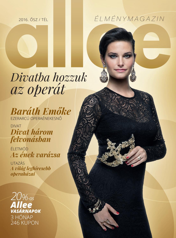 3fddb1cb5a Allee Magazin 2016 (ősz/tél) by Allee Bevásárlóközpont - issuu