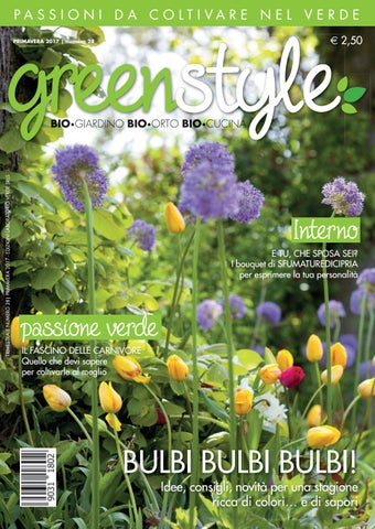 147bf6d24508 greenstyle primavera 2017 by Edizioni Laboratorio Verde - issuu