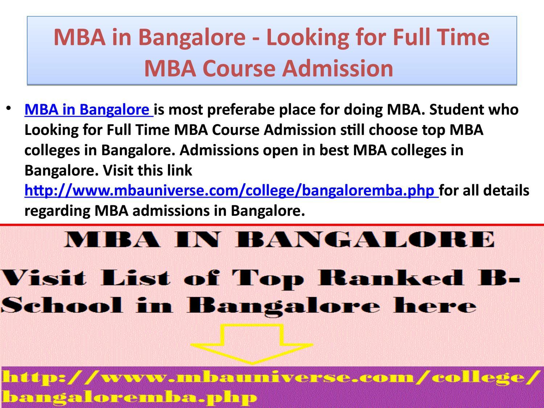 MBA programme