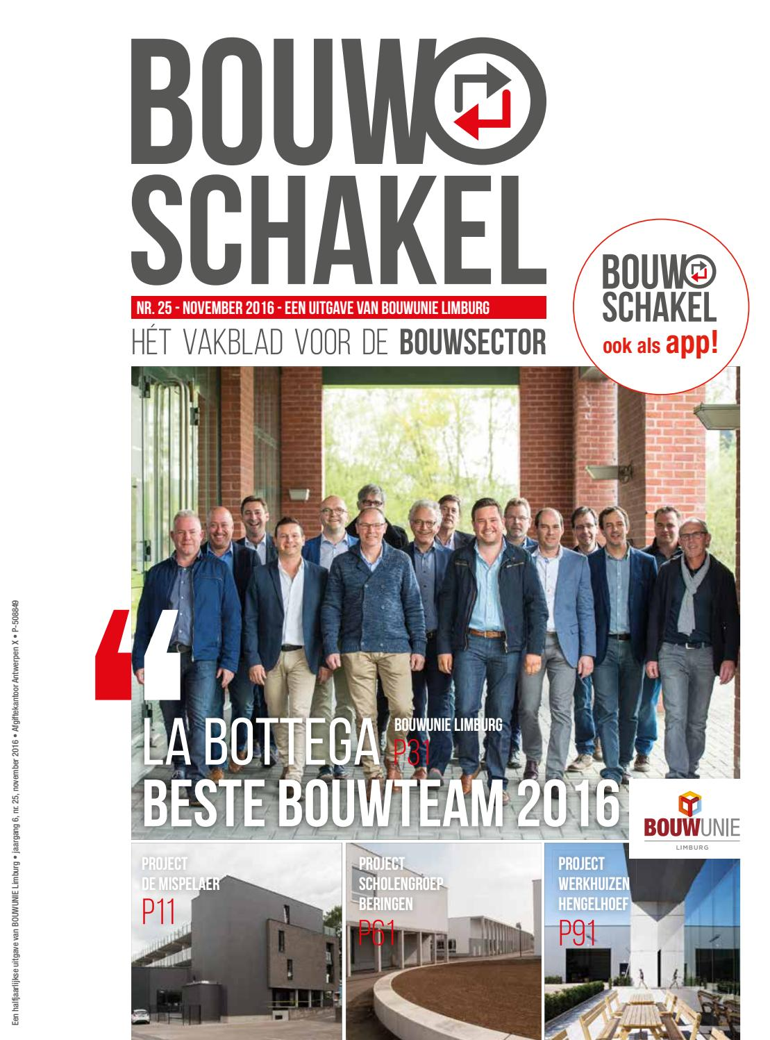 Bouwschakel november 2016 by Davy Maesen issuu