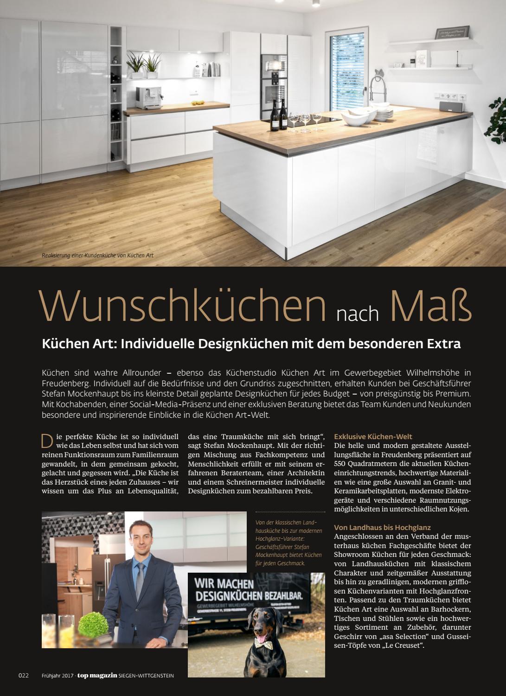 Musterhaus küchen verband  Top Magazin Siegen Wittgenstein Frühjahr 2017 by Top Magazin - issuu