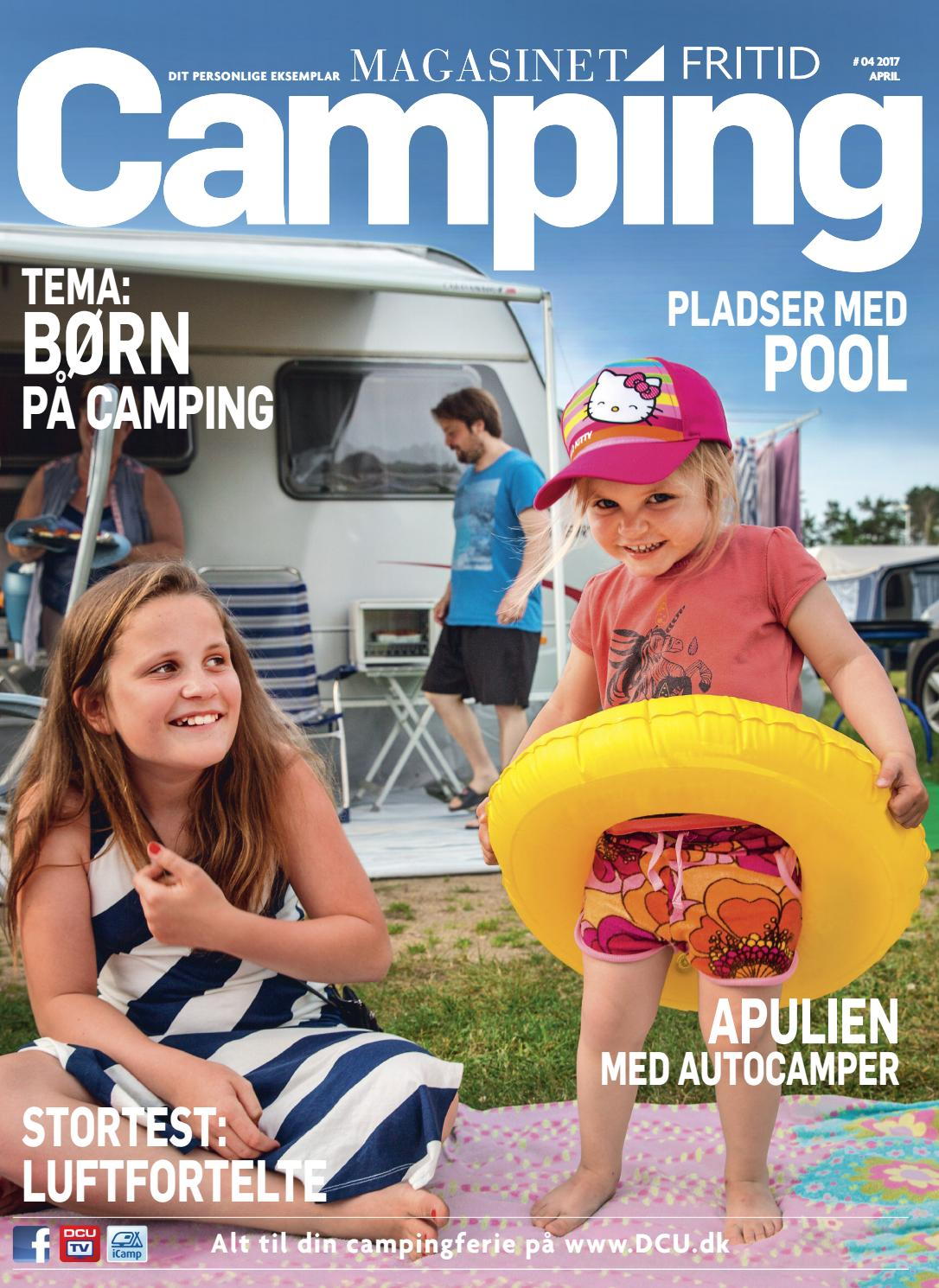 Picture of: Camping Fritid 4 2017 By Dansk Camping Union Issuu