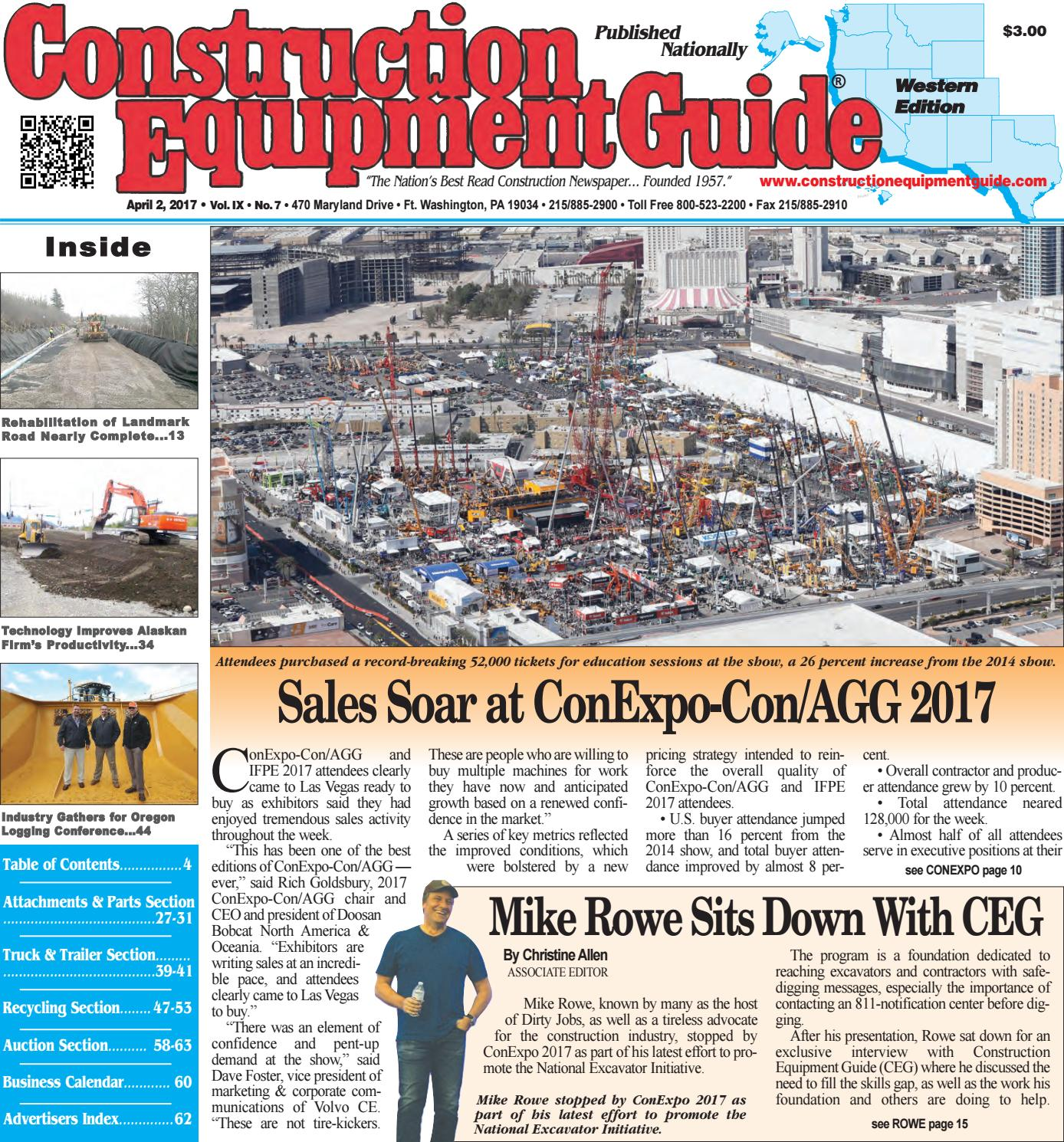 West 7 April 3, 2017 by Construction Equipment Guide - issuu