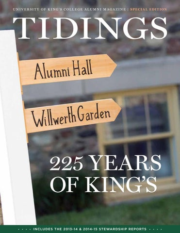 Tidings Summer 2012 By University Of Kings College Issuu