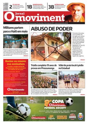 Edição 31 03 2017 by Jornal O Movimento - issuu 4a3fca1f1548d