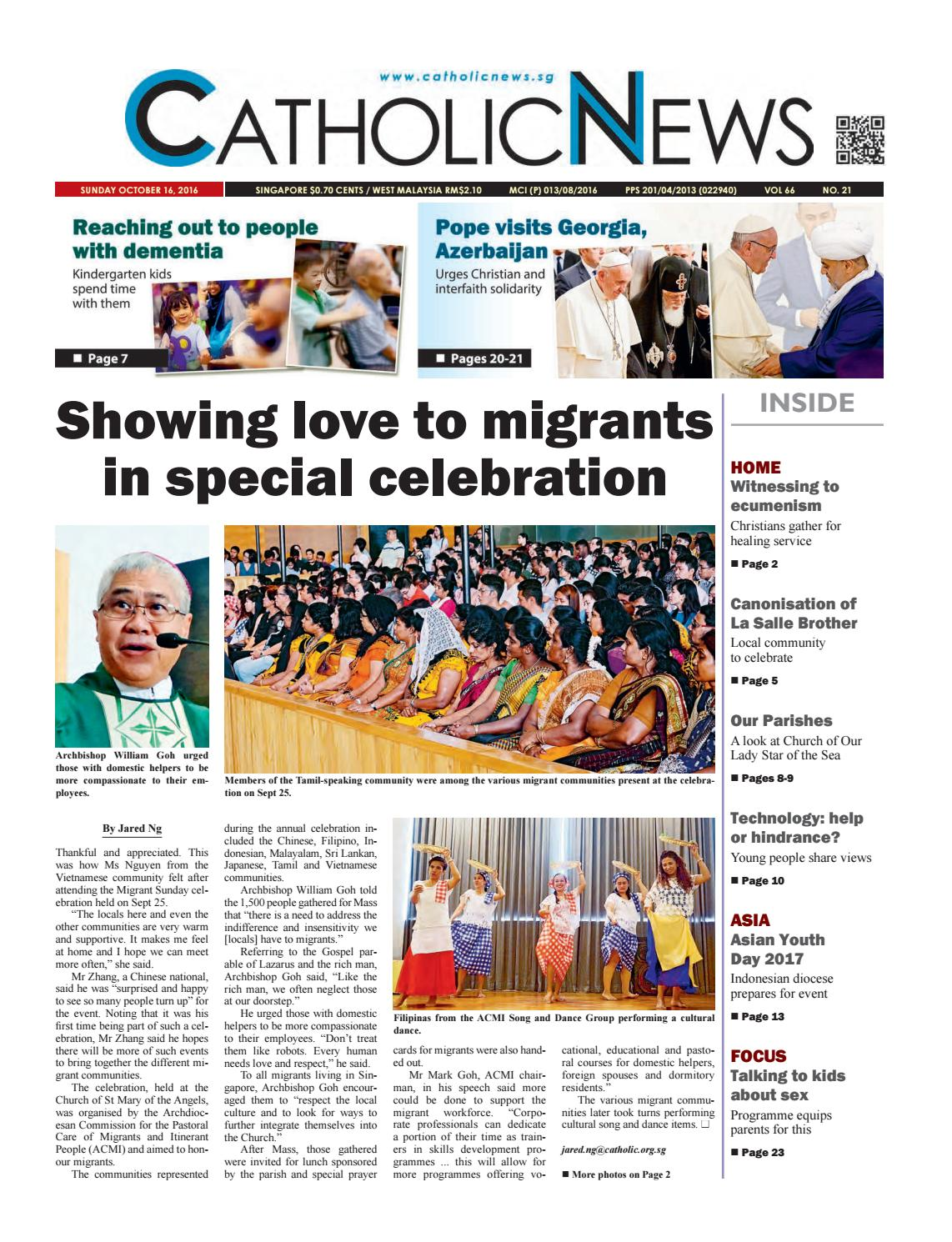 Catholic News issue 21, 2016 by CatholicNews - issuu