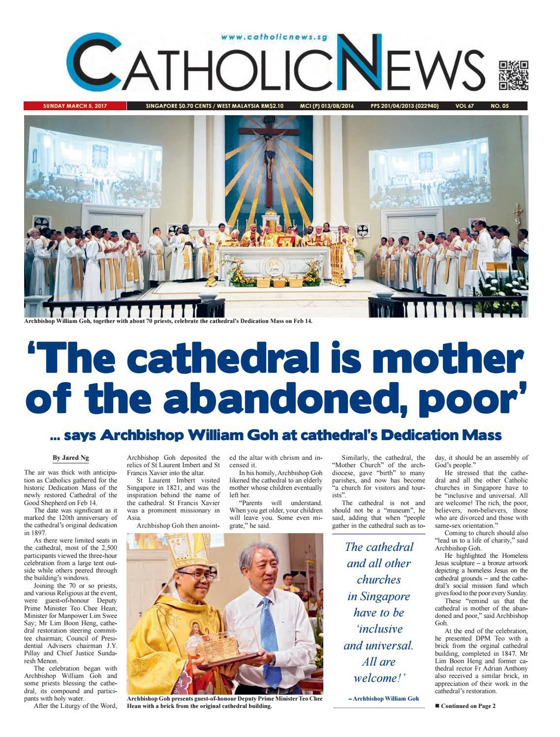 Catholic News Issue 5 2017 By Catholicnews Issuu