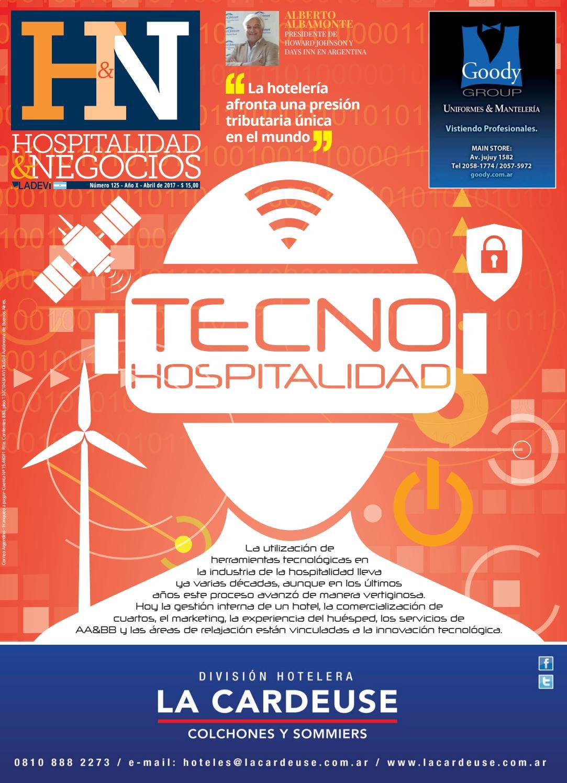 Hospitalidad y Negocios N° 125 by La Agencia de Viajes - issuu