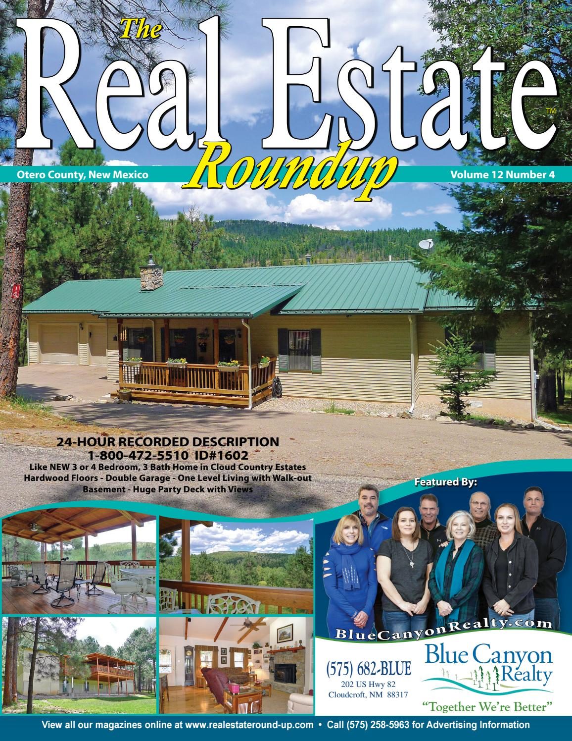 New mexico otero county cloudcroft - Alamogordo Real Estate Homes Land For Sale Cloudcroft Tularosa High Rolls Vol 12 No 4 By Helpful Publications Issuu