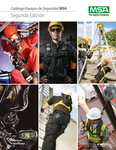 f0cdef2f30 2018 MSA MX Catalogo 2da Edicion by Industrial de Equipos de Tampico, S.A.  de C.V. - issuu