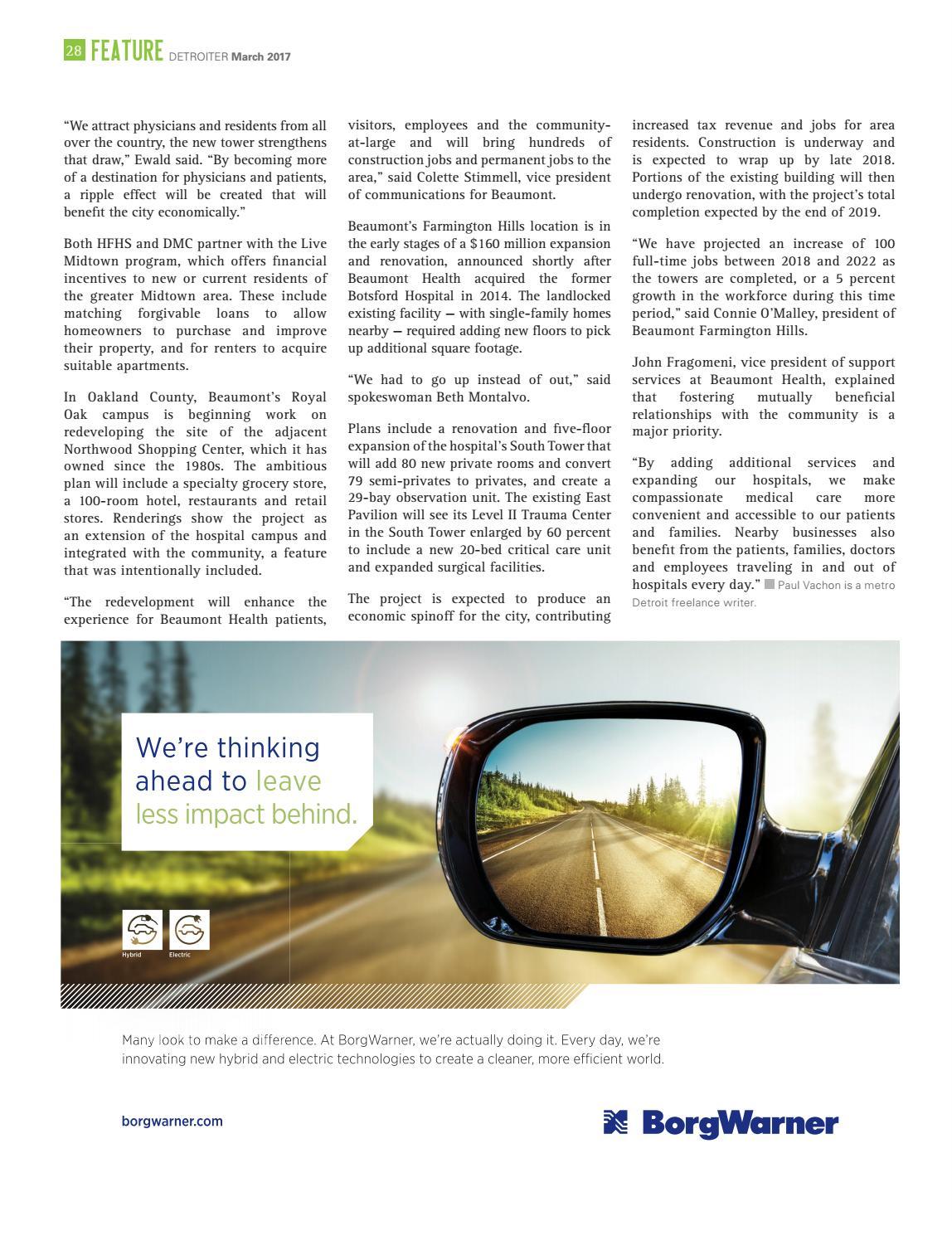 Detroiter Magazine March Issue by Detroit Regional Chamber - issuu