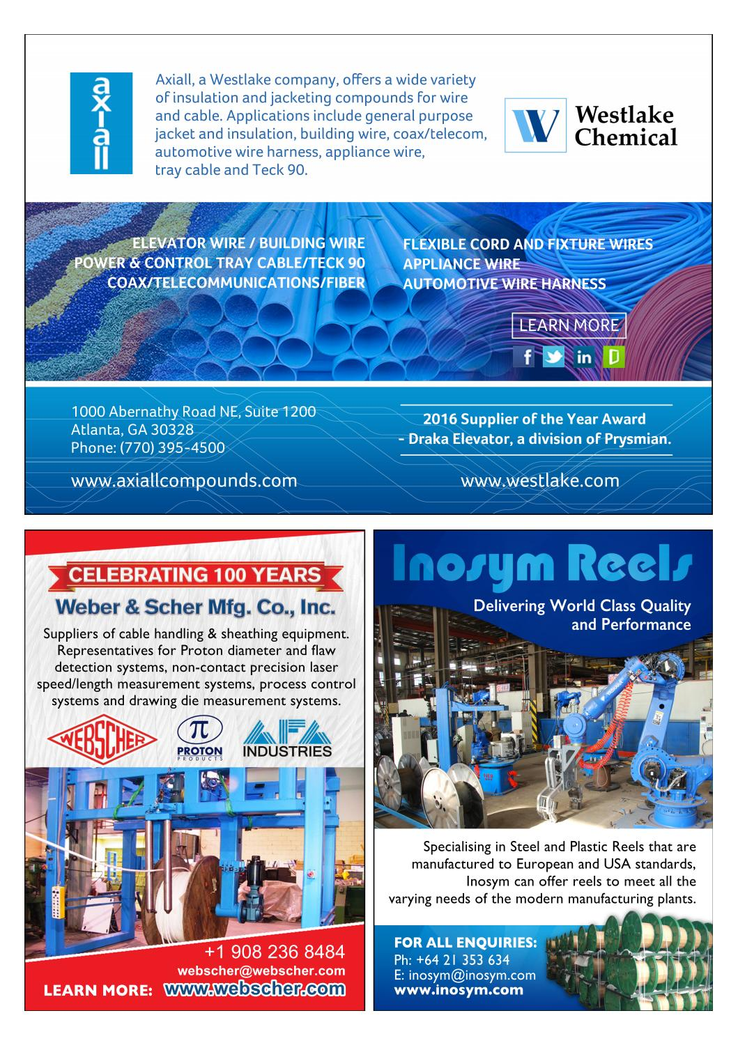 Brochure Prysmian Group By Business Review Usa Issuu Wire Harness Insulation