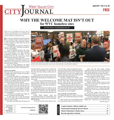 Charming West Valley Journal April 2017 By My City Journals   Issuu