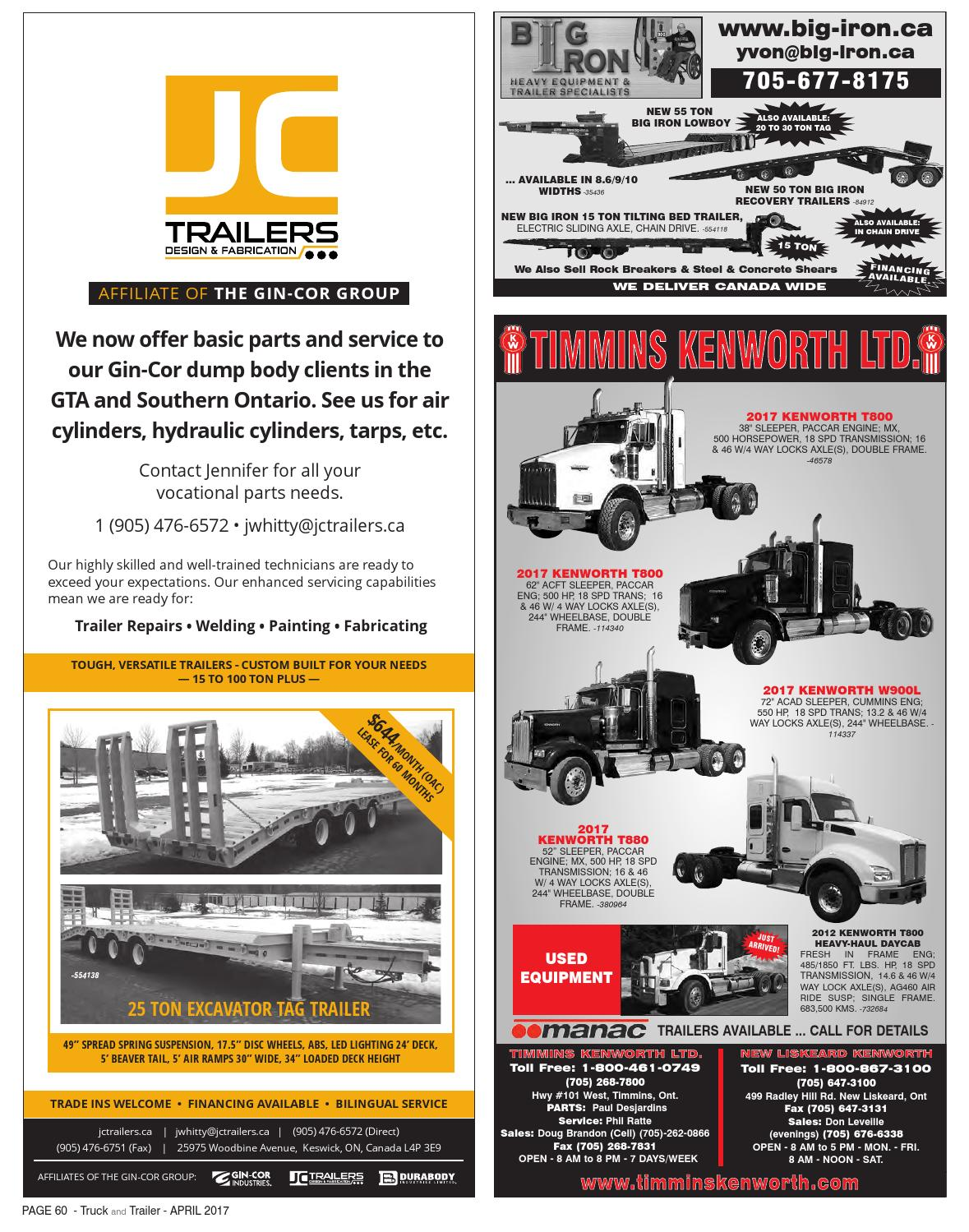 Truck and Trailer April 2017 by Annex Business Media - issuu