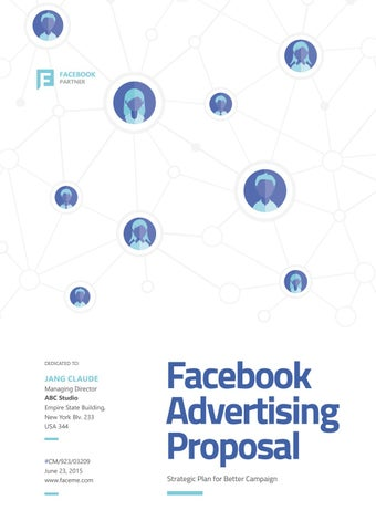 Facebook Marketing Proposal Sample Preview By Fahmy Hidayat  Issuu