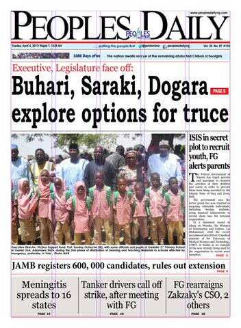 Tuesday April 4 2017 Edition By Peoples Media Limited Issuu