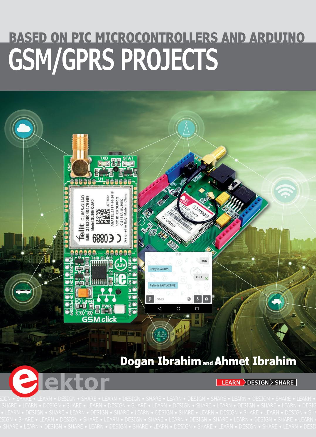 Gsm Gprs Projects By Elektor Issuu To Send Sms Using Modem And Arduino Electronic Circuit