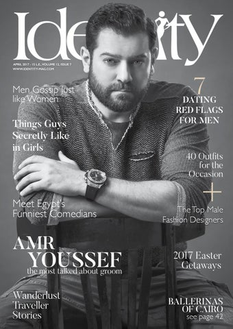 Amr Youssef The Most Talked About Groom By Identity Magazine Issuu