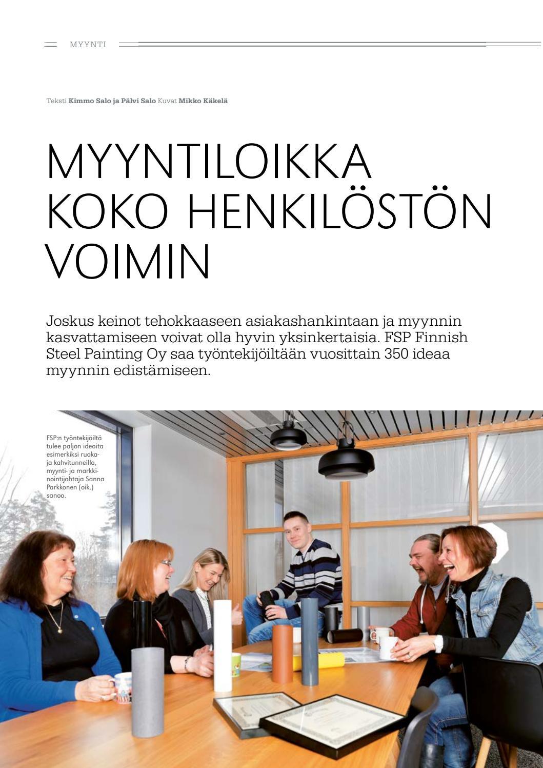 Myynti & Markkinointi 2/2017 by Myynnin ja markkinoinnin ammattilaiset MMA - Issuu