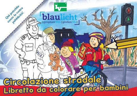 Girofaro Blu Libretto Da Colorare Per Bambini By Iv Group