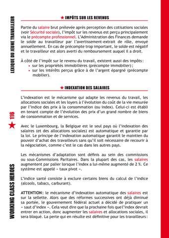 Lexique Jeune Travailleur 2017 Jeunes Fgtb By Fgtb Issuu