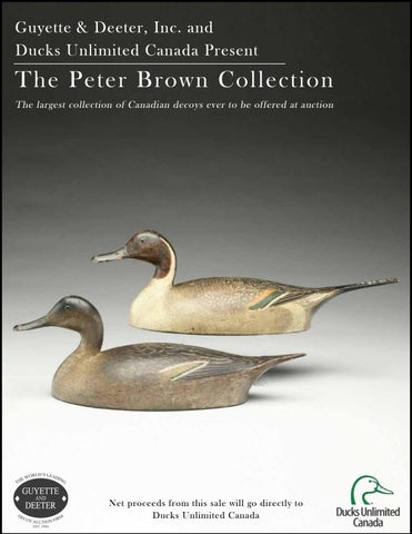 f3dc9227b66 The Peter Brown Decoy Collection by Guyette   Deeter - issuu