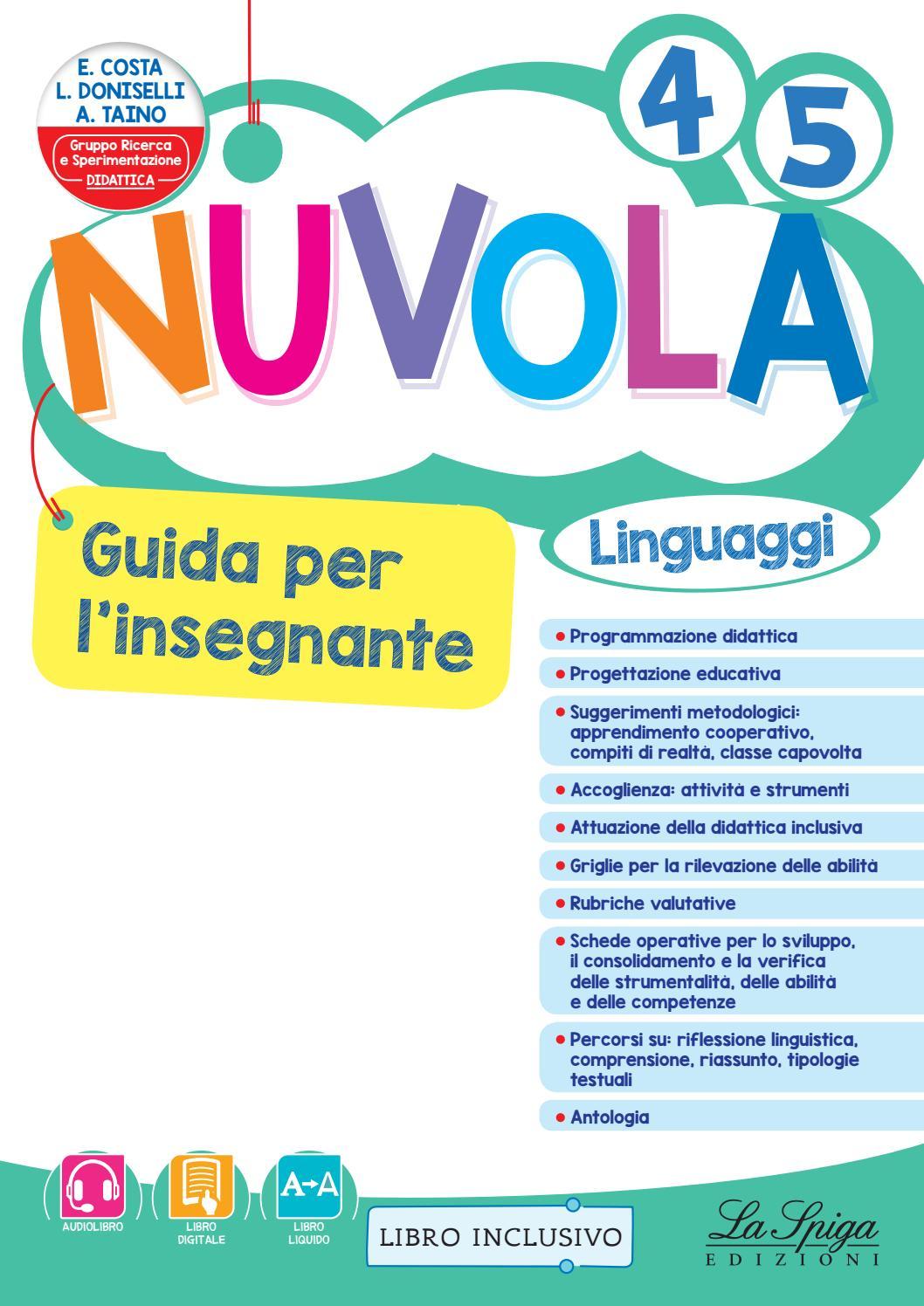 Nuvola 4 5 guida linguaggi by eli publishing issuu - Scheda di un libro letto ...