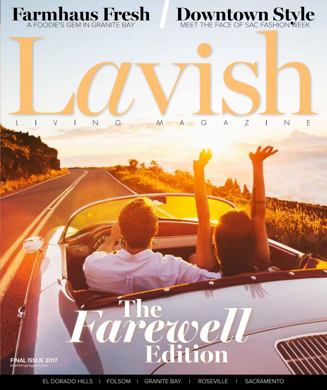 Lavish Living Magazine Final Issue 2017 By Lavish Living