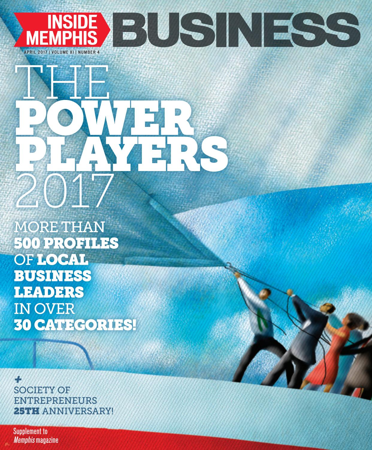 Inside Memphis Business, April/May 2017 by Contemporary