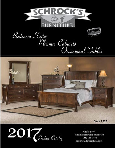 Bedroom Furniture Catalogue 2017 schrock's catalog 2017amish heirlooms furniture - issuu