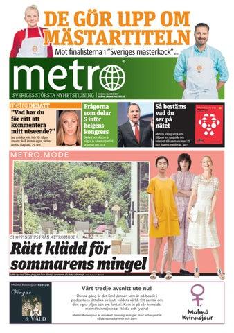 """DE GOR UPP OM MASTARTITELN Möt finalisterna i """"Sveriges mästerkock"""" SID 17 db210eca04da3"""