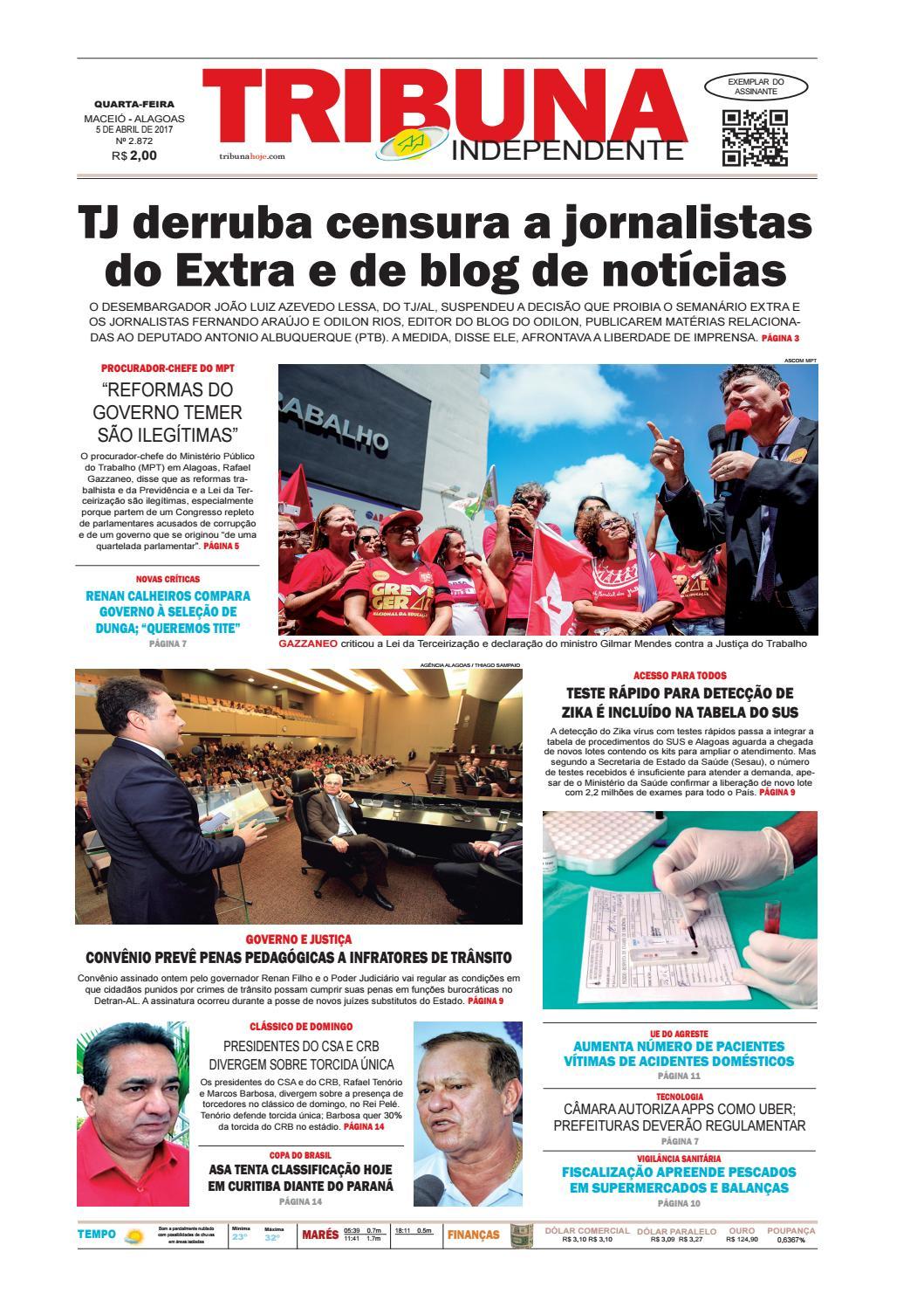 Edição número 2872 - 5 de abril de 2017 by Tribuna Hoje - issuu 62cd0c46a7474