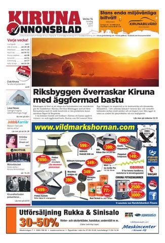 sale retailer 0bb77 71194 Kiruna Annonsblad by Svenska Civildatalogerna AB - issuu