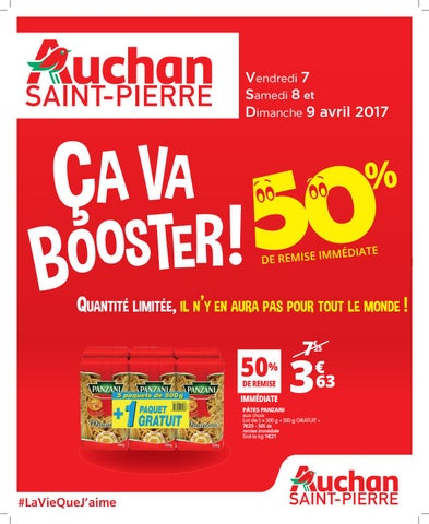 Catalogue Auchan Saint Pierre Du 7 Au 9 Avril 2017 By Auchan Saint