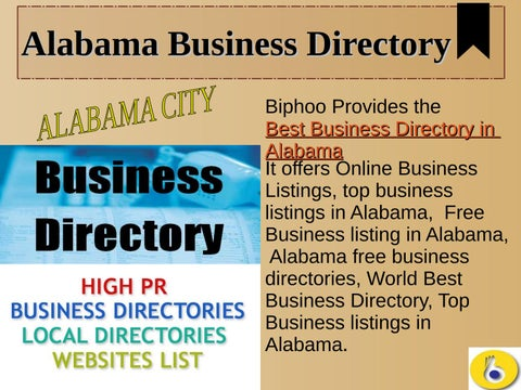 Alabama business Directory by USA business listing - issuu