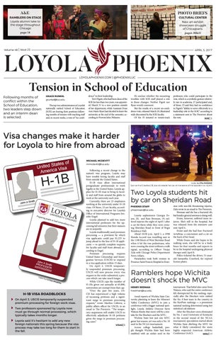 Loyola Phoenix, Volume 48, Issue 25 by Loyola Phoenix - issuu